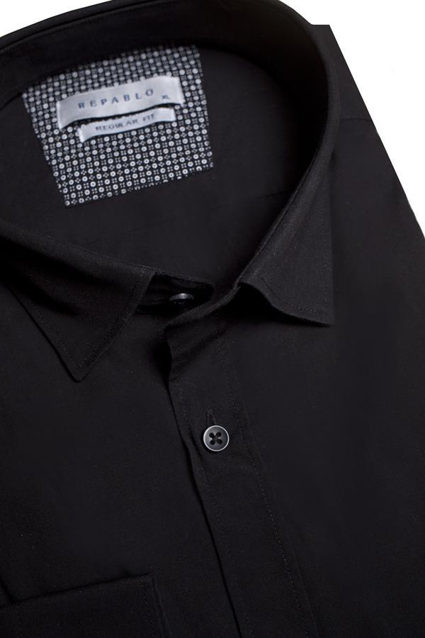 Koszule męskie czarne 2021